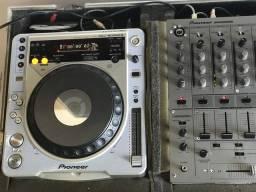 Par Cdj 800 MK2 + Mixer DJM600 + Case