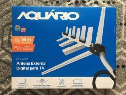 Antena Externa Digital para TV - Aquário