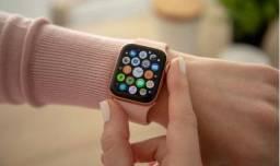Relógio smartwhath IWO 8 Pro Rosê Faz e Recebe Ligação