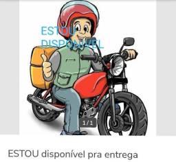 Entregador de moto orario comercial segunda a sexta obrigado