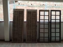 Porta Balcão em Itauba com Vidros e Veneziana