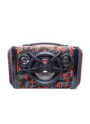 SpeakerEcopowerEP-2266 - Bluetooth - Preto e Laranja