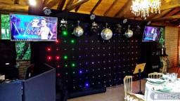 DJ som e luz para seu casamento