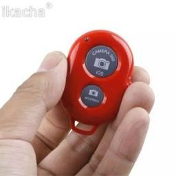Controle remoto bluetooth para câmera de celular, para todos os telefones móvel