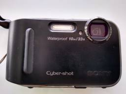 Câmera digital Sony Cyber Shot a prova dagua