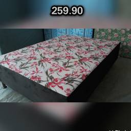OFERTA DE FÁBRICA- Camas Box Casal Colchobox Novas de Fábrica Só 269