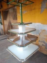 Fruteira (MDF e madeira) (Opção Expositores) oficina em Castanhal/PA, Bairro Salgadinho