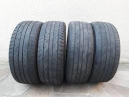 Jogo de pneus 235/50 aro 18 seminovos