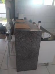 Balcão pronto para instalação (mármore cinza andorinha
