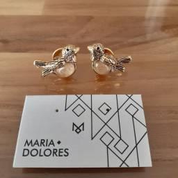 Brinco passarinhos marca Maria Dolores novo