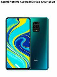 Redmi note 9s novo 6GB Ram/128GB