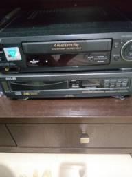 Dvd Philips com controle remoto 4 times