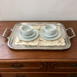 Porcelana para Café (1 Xícara+ 1 Pires +1 Pratinho) usado