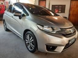 Honda Fit automático completo banco de couro Sem entrada + 48x fixas