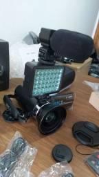 Vendo ou troco por tablet câmera filmadora nova sem uso