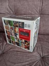 Console Camecube prata completo na caixa