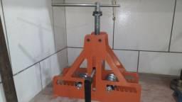 Calandra dobradeira de tubos e barras