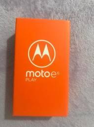 Moto e6 play lacrado e com nota fiscal