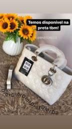 Bolsa branca com alça lateral NOVA