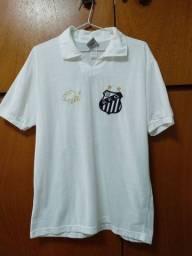 Camisa Santos Futebol Clube Retrô Lance