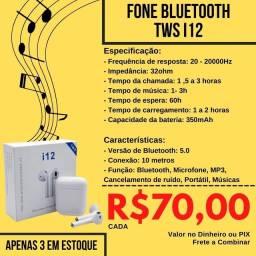 Fone i12 Bluetooth tws(ORIGINAL)