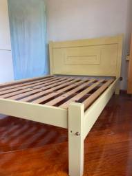 cama de casal + colchão