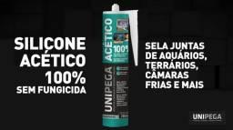 Silicone para Aquário incolor - 100% Acético