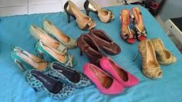 Vendo sapatos de saltos