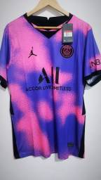Quarta Camisa Do Paris Saint-Germain 20/21.