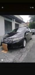 Honda City LX automático 2013 flex
