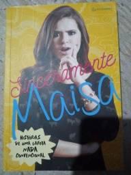 Livro Sinceramente Maisa