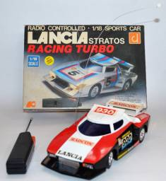 Lancia Stratos Racing Turbo Radio Controlled scale1/18 (radiomobilismo)