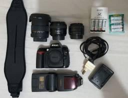 Kit Nikon D90 conservada