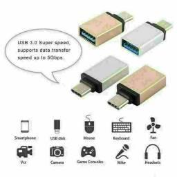 Cabo adaptador conect pendrive no celular entrega gratuita em toda baixada