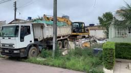 Terraplanagem demolições escavações aterros