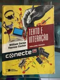 Vendo LIVRO CONECTE TEXTO E INTERAÇÃO
