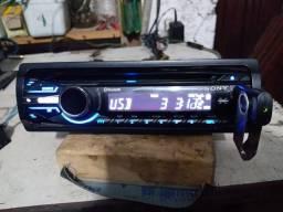 Rádio automotivo Sony com Bluetooth