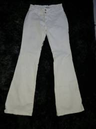 Calça jeans branca nova  / marca M.officer