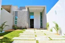 Casa plana de alto padrão próximo ao Eusébio Opem Mall