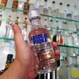 Miniatura Vodka Absolut 200ml - Original e Lacrada