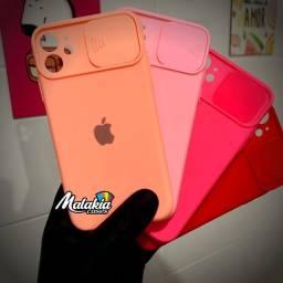 Capinha iPhone 11 proteção de câmera