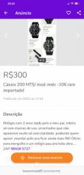Relógio Cássio mod:MDV- 106 importado . ZAP *
