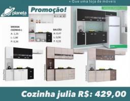armário de cozinha Julia em promoção