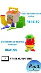 Diversos Brinquedos de Praia -10% Desc.,*Brinquedos Novos*