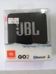 Caixa de som JBL portátil com Bluetooth