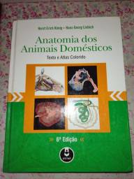 Livro de anatomia dos animais domésticos