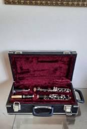 Clarinete Madeira Francesa Normandy 4 Si Bemol 17  Ch
