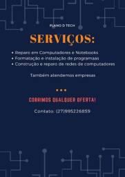 Serviços em T.I (Cobrimos qualquer oferta)