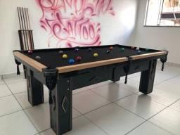 Mesa de mdf resinado ou madeira maciça