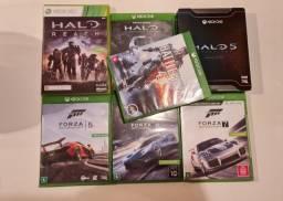 6 Jogos Xbox One e Xbox Series (Forza Motorsport, Halo e Battlefield)